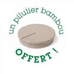 pilulier bambou offert