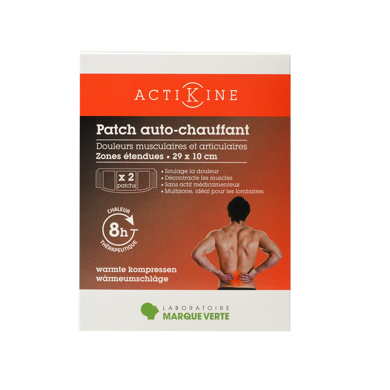 Patch chauffant ACTIKINE grand format
