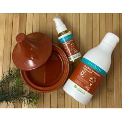 Gel douche surgras bio argan sans sulfate, sans conservateur indésirable, sans filtre uv et sans colorant artificiel