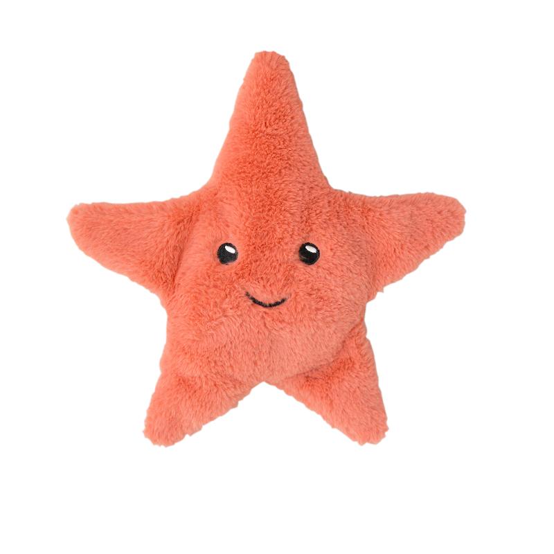 bouillotte peluche étoile de mer