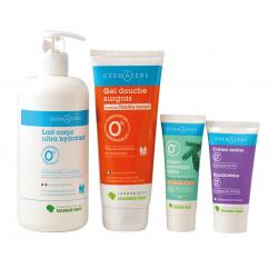 Pack routine peau douce Dermasens peaux mixtes et normales