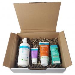Pack routine peau douce Dermasens pour peaux mixtes et normales