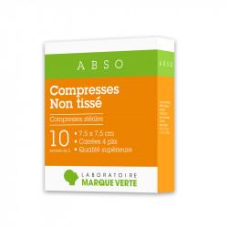 Compresses stériles Non tissé Abso