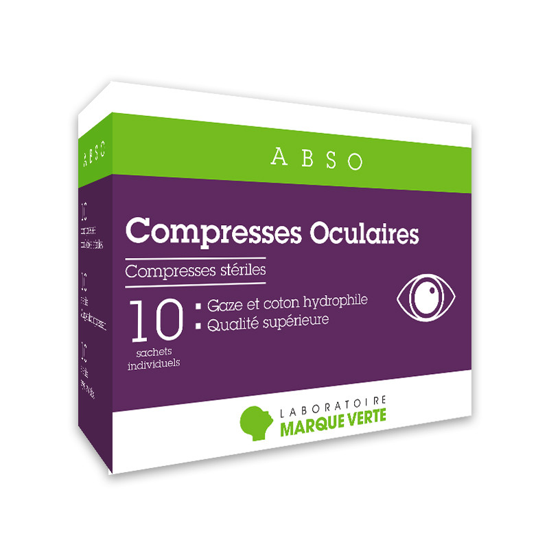 Compresses oculaires stériles Abso