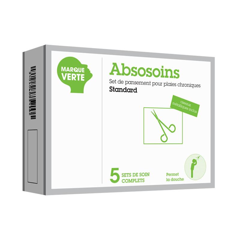 Set de pansements - plaies chroniques standard Absosoins