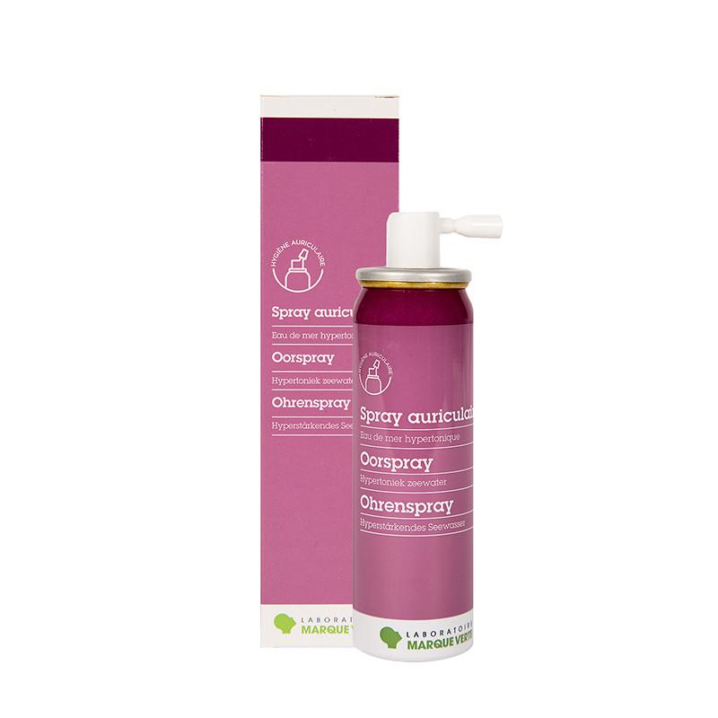 Spray auriculaire hypertonique
