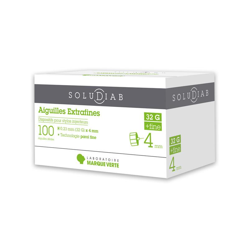 Aiguilles pour stylos à insuline Soludiab