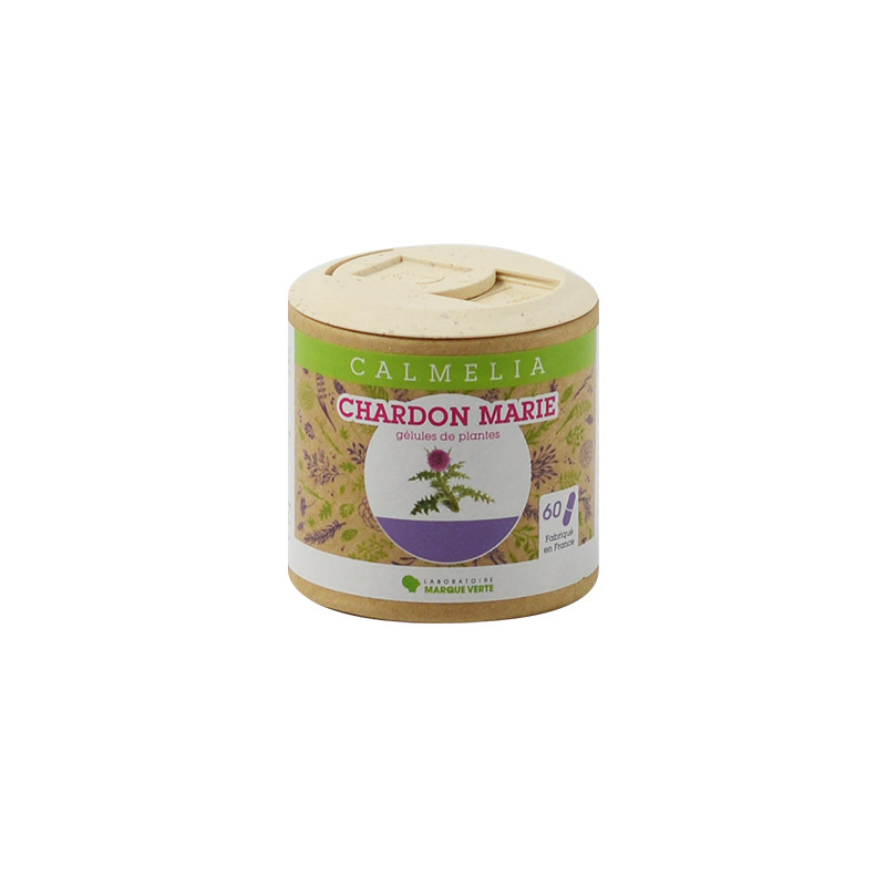Chardon Marie gélules Calmelia Boîte de 60 gélules