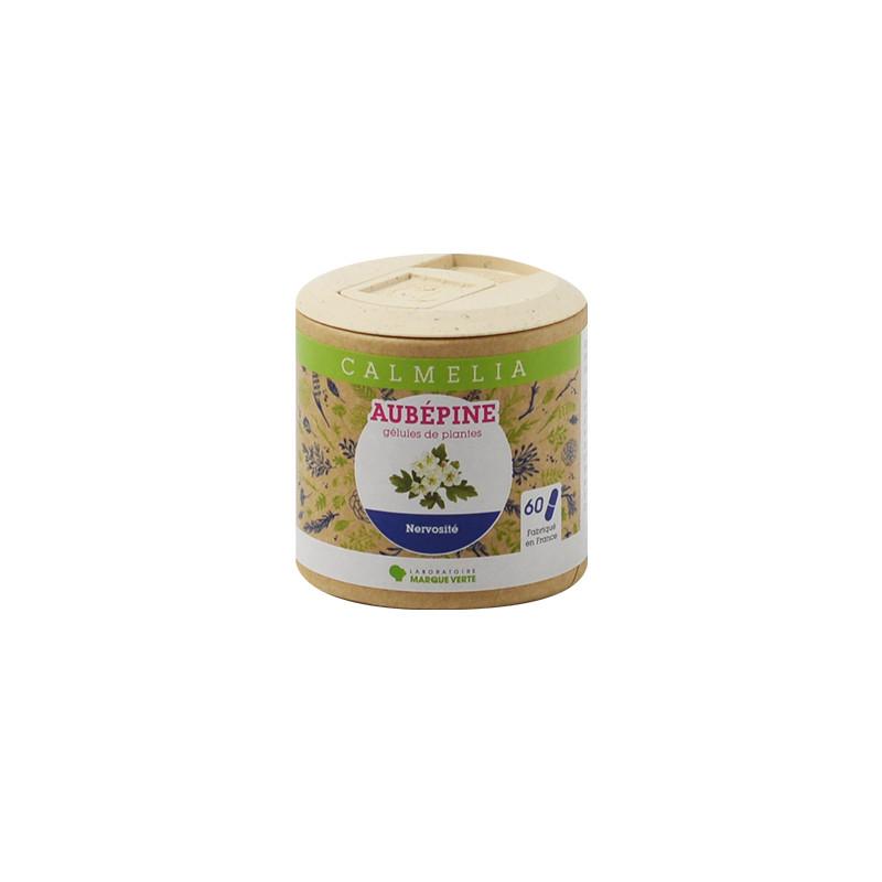 Achetez votre Aubépine en gélules Calmelia sur la boutique en ligne du Laboratoire Marque Verte