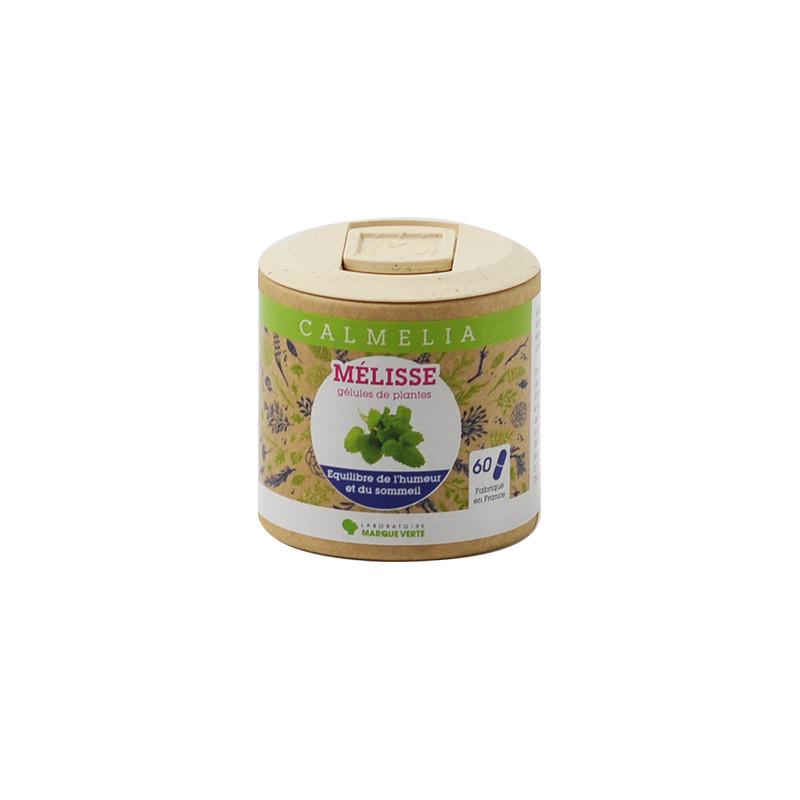 Achetez votre Mélisse en gélules Calmelia sur la boutique en ligne du Laboratoire Marque Verte