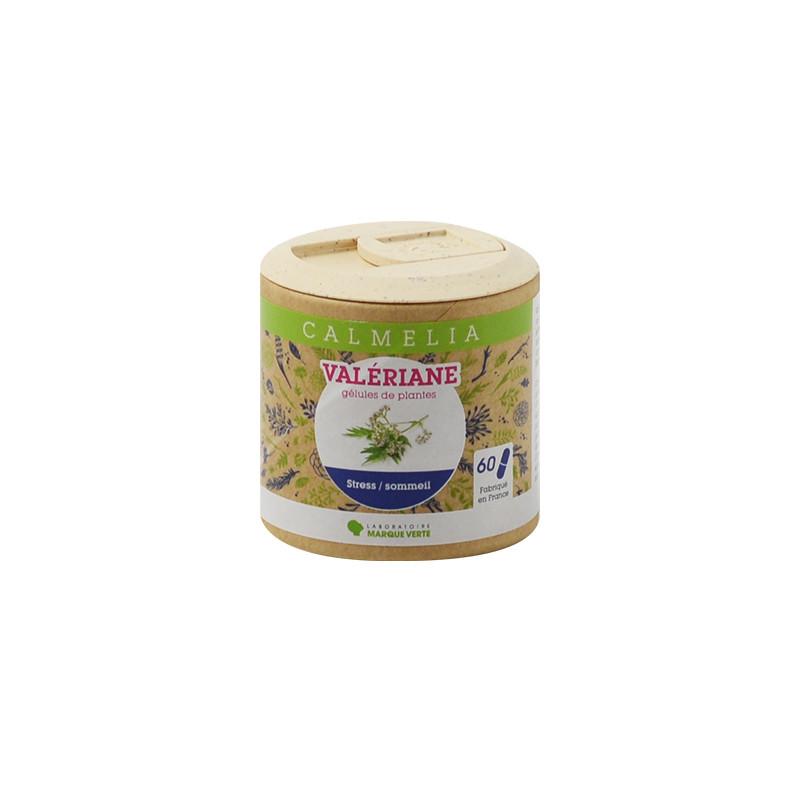 Achetez votre Valériane en gélules Calmelia sur la boutique en ligne du Laboratoire Marque Verte