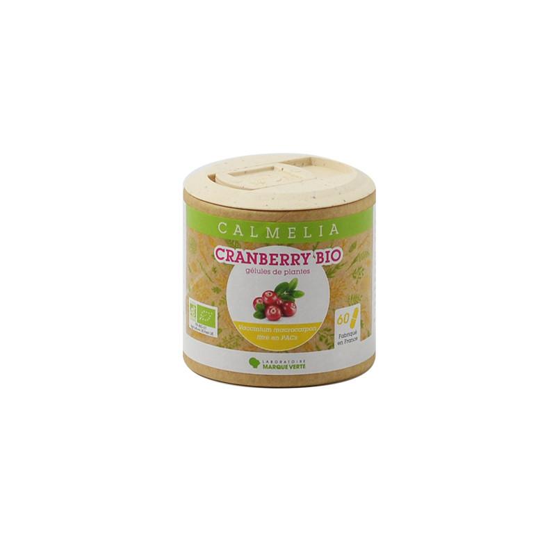 Achetez votre Cranberry en gélules Calmelia sur la boutique en ligne du Laboratoire Marque Verte