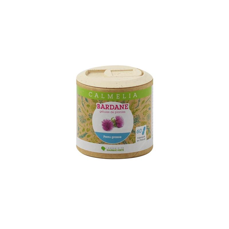 Achetez votre Bardane en gélules Calmelia sur la boutique en ligne du Laboratoire Marque Verte