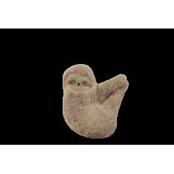 Bouillotte peluche paresseux graines naturelles Tou'cho