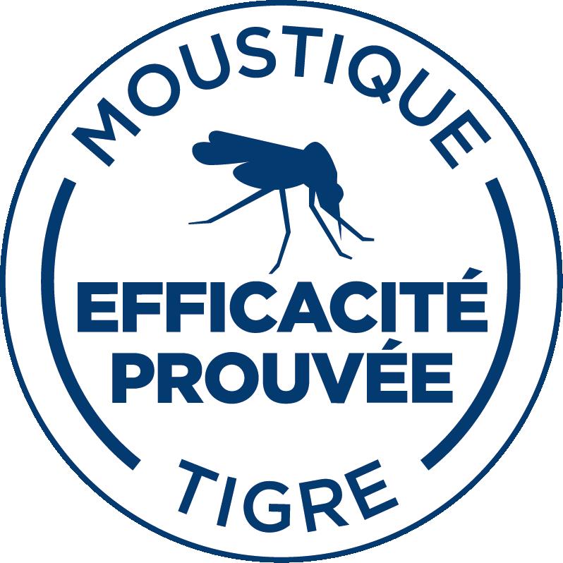 Mention efficacité prouvée moustique tigre