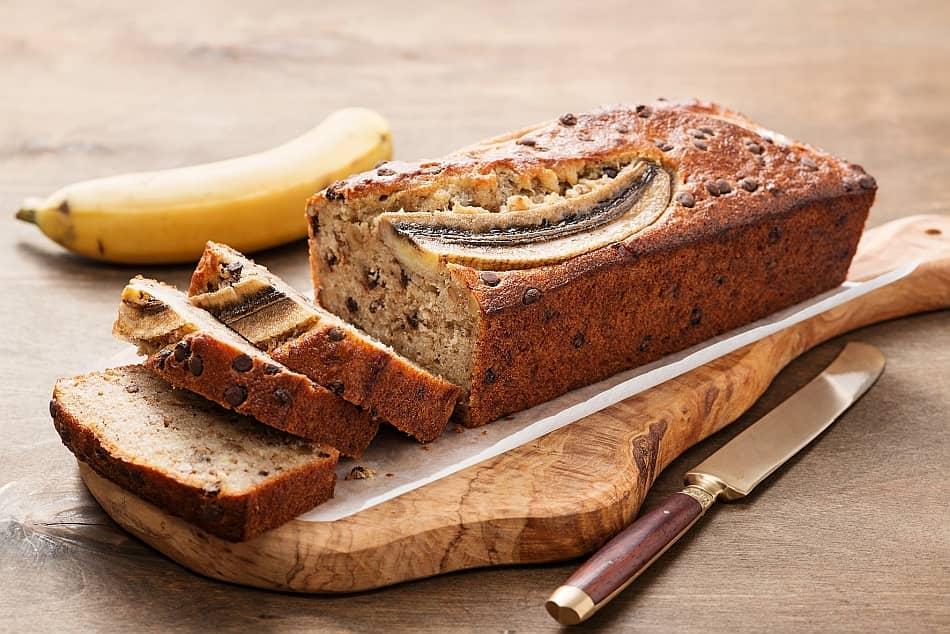 Banana Bread,, recette pour diabétique